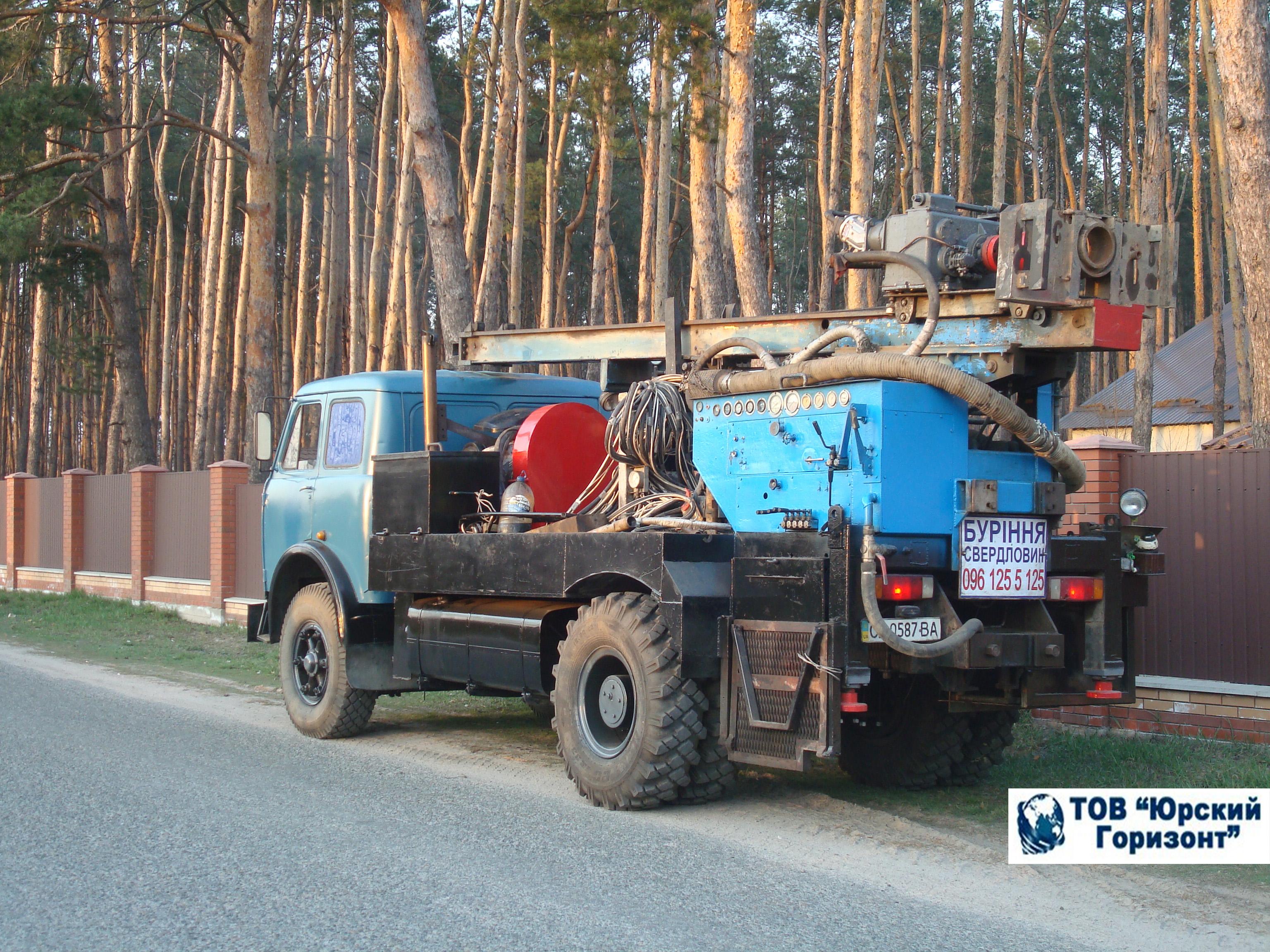 Бурение скважин у Ровно и Ровенской области